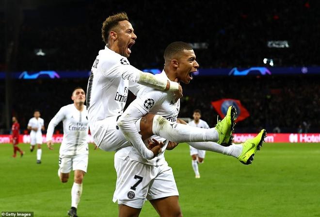 PSG thang Liverpool 2-1: Nua ty euro cho Neymar, Mbappe khong vo ich hinh anh