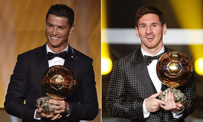 Ronaldo va Messi thay doi Qua bong vang nhu the nao? hinh anh