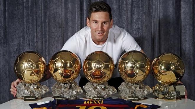 Messi nhan phieu bau thap nhat trong 11 nam duoc de cu Qua bong vang hinh anh 1