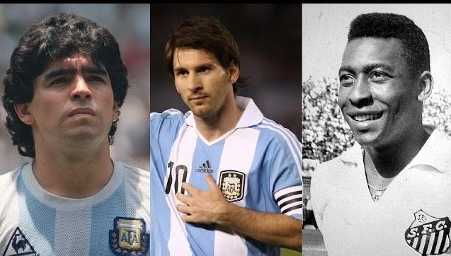 Pele: 'Messi chi choi mot chan, khong biet danh dau, thua xa Maradona' hinh anh