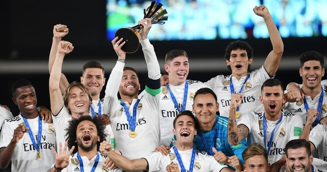 Real Madrid gianh chuc vo dich FIFA Club World Cup 2018 hinh anh