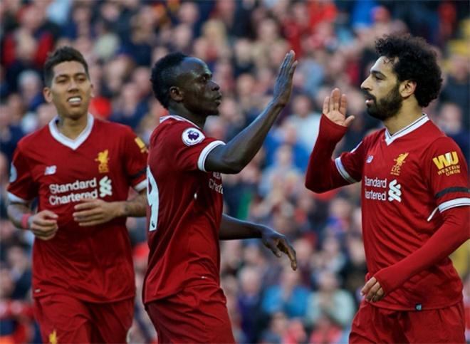 Liverpool thang Arsenal 5-1: Gio ai con che Salah, Mane va Firmino? hinh anh