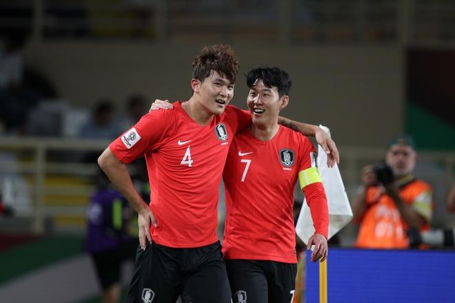 Son Heung-min toa sang giup Han Quoc chiem ngoi dau bang C Asian Cup hinh anh 1