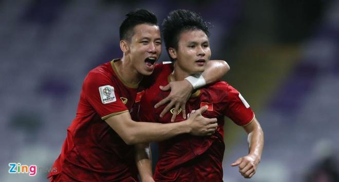 Viet Nam gianh ve vao vong 1/8 Asian Cup nho hon Lebanon chi so phu hinh anh 1