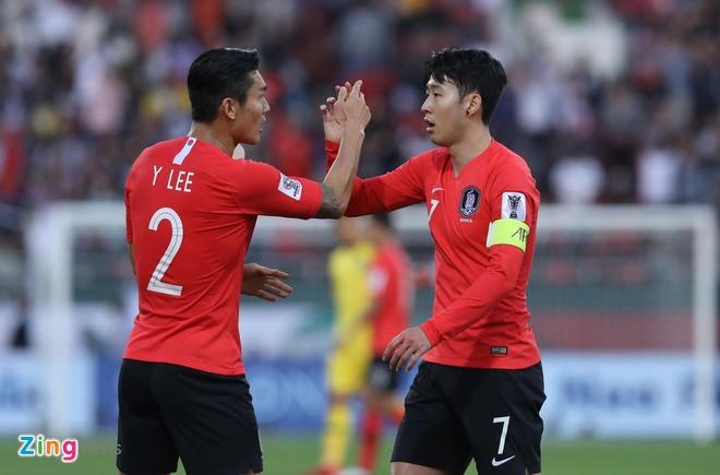 Son Heung-min mo nhat, Han Quoc chat vat vao tu ket Asian Cup hinh anh 1