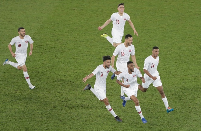 Han Quoc vs Qatar anh 1