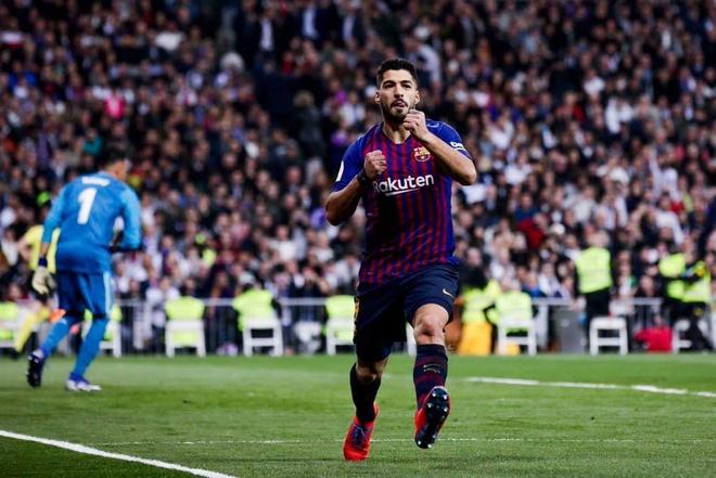 Suarez toa sang, Barca de bep Real Madrid 3-0 ngay tai Bernabeu hinh anh 1