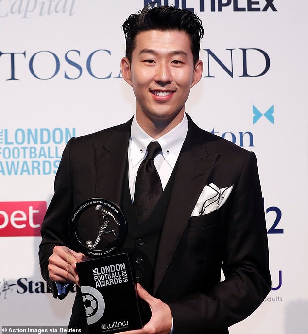 Son Heung-min,  Tottenham anh 1