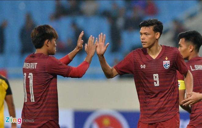 U23 Thai Lan de bep Brunei 8-0, gay suc ep toi Viet Nam hinh anh 1