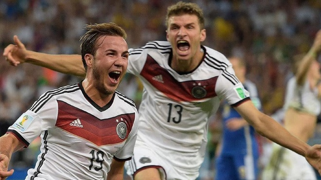 Khoanh khac Mario Goetze dua DT Duc vo dich World Cup 2014 hinh anh