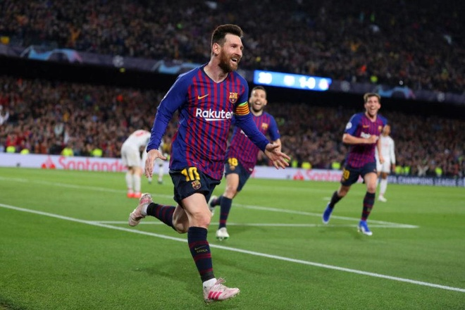 Messi,  Champions League anh 1