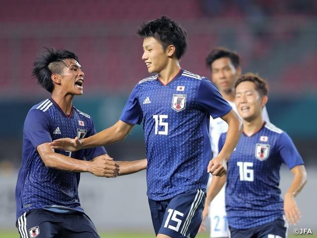 Việc tham dự Copa America 2019 là thử nghiệm tốt để Nhật Bản rèn kinh nghiệm cho Olympic 2020. Ảnh: JFA.