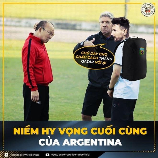 Hi hoa Messi cau cuu thay Park de thang Qatar o Copa America hinh anh 6