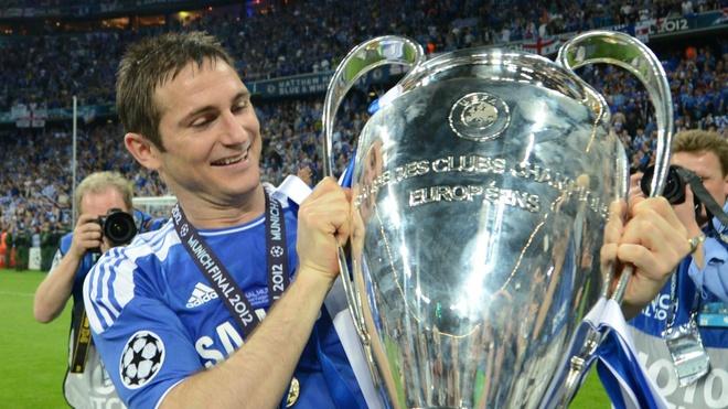 Frank Lampard là huyền thoại trong lịch sử Chelsea. Ảnh: Getty.