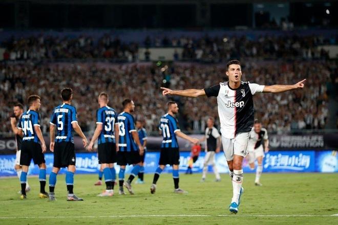 Ronaldo ghi ban giup Juventus thang Inter Milan tai ICC Cup hinh anh 1