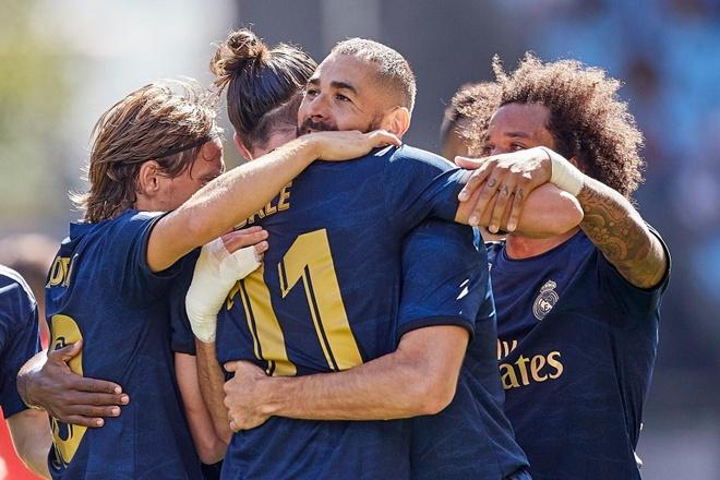 Gareth Bale toa sang, Real Madrid thang cach biet Celta Vigo hinh anh 1