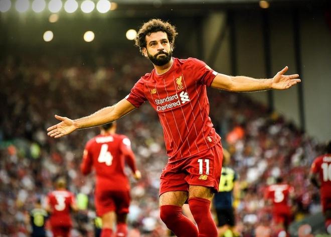 Salah lap cu dup giup Liverpool thang cach biet Arsenal hinh anh 1
