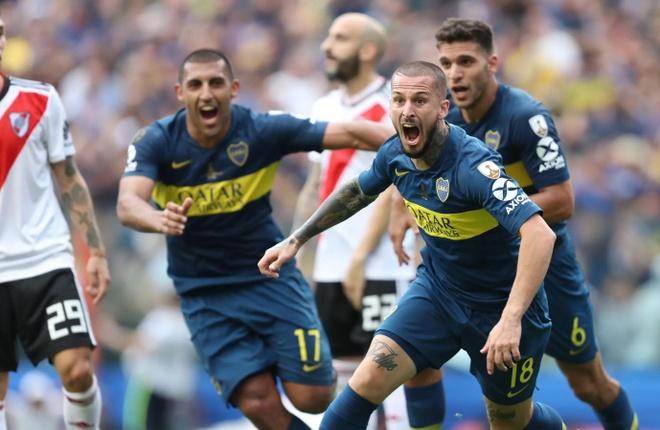 Tran dau nong nhat hanh tinh lai xuat hien o Copa Libertadores hinh anh 1