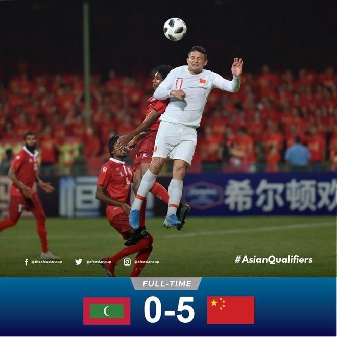 Cau thu nhap tich giup Trung Quoc thang 5-0 o vong loai World Cup 2022 hinh anh 1