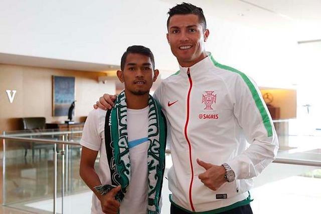 Ronaldo giup nan nhan song than o Indonesia doi doi hinh anh 2