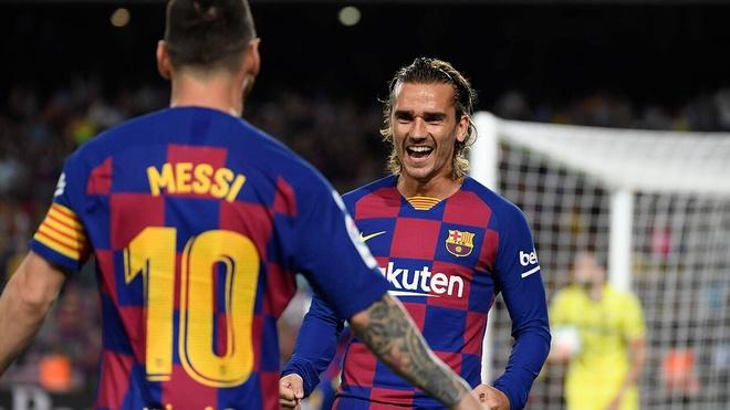 Messi ep HLV Barca loai Griezmann anh 1