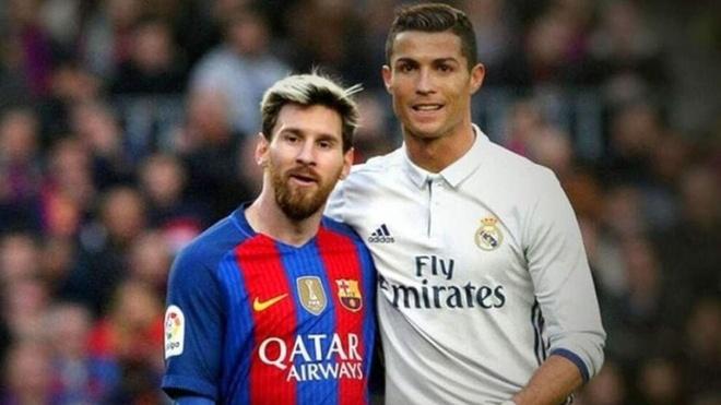Messi nho Ronaldo anh 1