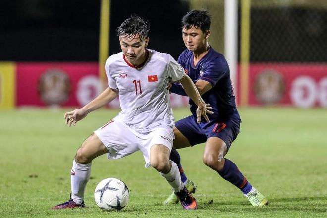 U19 Viet Nam thang Thai Lan, gap Han Quoc tai chung ket o Bangkok hinh anh 1