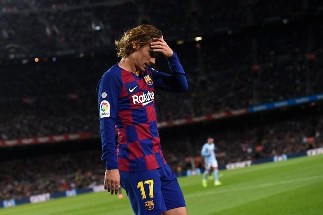 Griezmann vo mong tai Barca vi Messi hinh anh 1