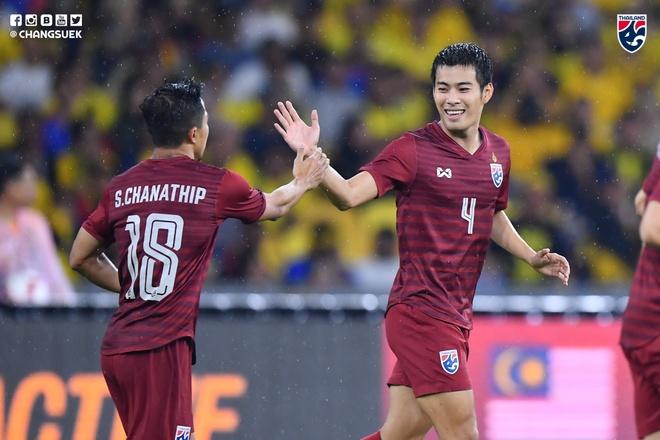 Thai Lan thua nguoc Malaysia 1-2 du Chanathip ghi ban som hinh anh 1