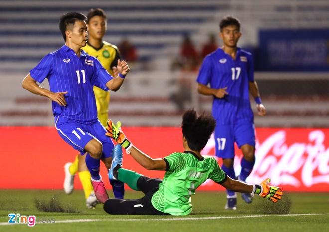 truc tiep U22 Thai Lan vs Brunei anh 2