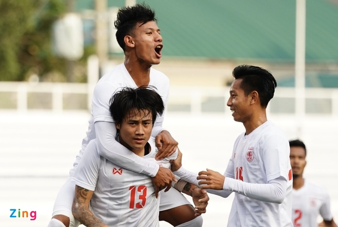 truc tiep U22 Myanmar vs Timor Leste anh 1