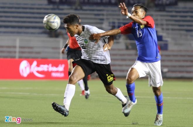 truc tiep Malaysia vs Timor leste anh 1