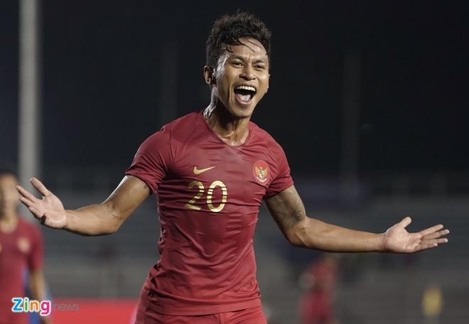 De bep Brunei 8-0, U22 Indonesia day Thai Lan xuong thu ba hinh anh 1
