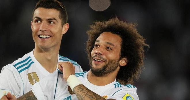 Không còn Ronaldo, Marcelo mất cạ cứng bên hành lang trái của Real Madrid. Ảnh: Getty.