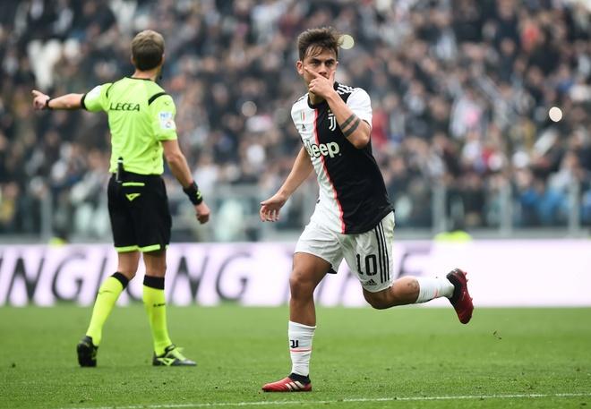 Juventus dang lang phi Paulo Dybala vi Ronaldo hinh anh 1 2020_02_16T144440Z_331888404_RC2Q1F9MFQIH_RTRMADP_3_SOCCER_ITALY_JUV_BCA_REPORT.JPG