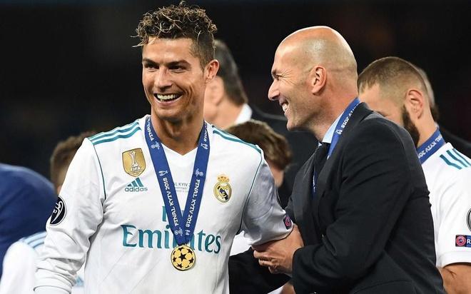 Zidane: 'Chang HLV nao co the cai thien Ronaldo hay Modric' hinh anh 1 5VTADUXFASVXV4KUCKSJ72HVUI.jpg