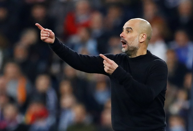 Ha Real, Pep Guardiola lap ky tich chua tung thay tai Champions League hinh anh 1 2020_02_26T214849Z_1322930358_RC2L8F9SGKDP_RTRMADP_3_SOCCER_CHAMPIONS_MAD_MCI_REPORT.JPG