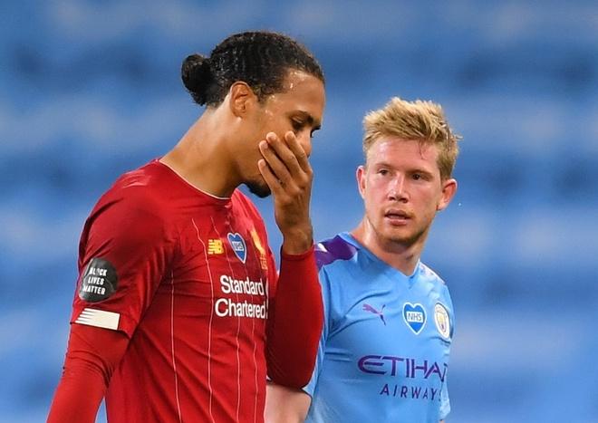 Liverpool thua Man City 0-4 anh 1