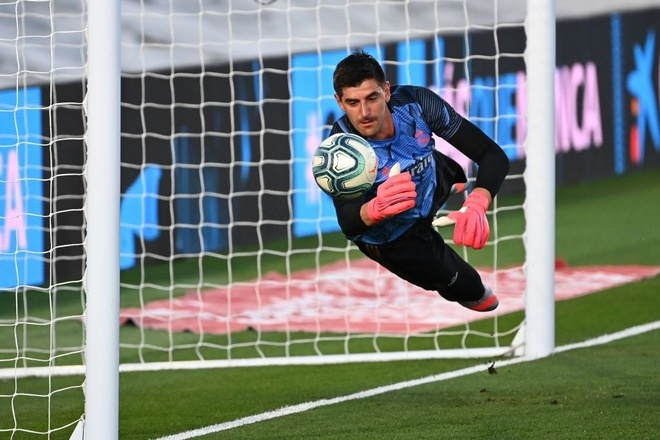 courtois real madrid anh 1