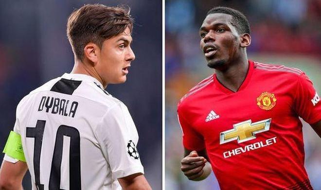 Juventus đã tiến hành lên kế hoạch để đổi Dybala lấy Pogba
