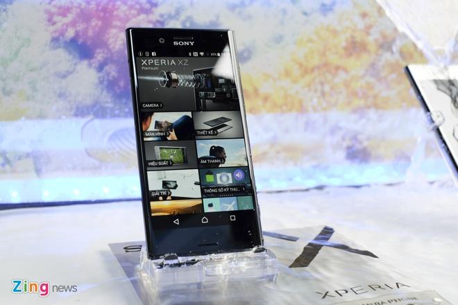 Sony Xperia XZ Premium ra mat tai VN voi gia 18,5 trieu hinh anh 3