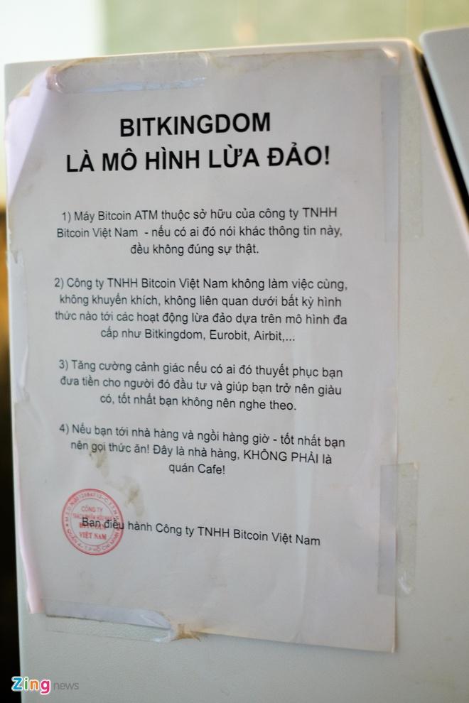 May ATM Bitcoin trong tiem an o Sai Gon hinh anh 3