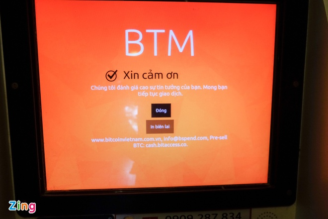 May ATM Bitcoin trong tiem an o Sai Gon hinh anh 10