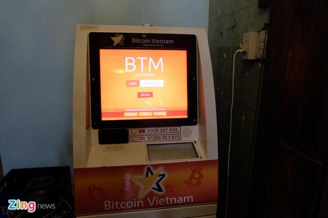 May ATM Bitcoin trong tiem an o Sai Gon hinh anh 7
