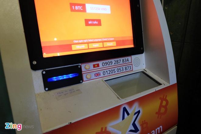May ATM Bitcoin trong tiem an o Sai Gon hinh anh 5