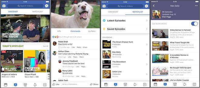 Facebook Watch: Ra doi de lat do YouTube hinh anh 1