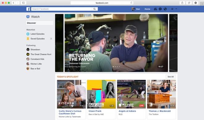 Facebook Watch: Ra doi de lat do YouTube hinh anh 2