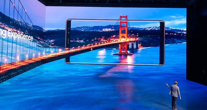 San khau ra mat Galaxy Note 8 gay an tuong manh hinh anh 1