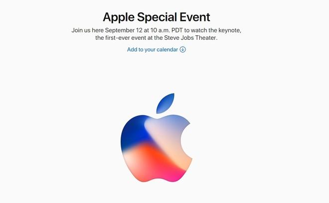 Apple gui thu moi ra mat iPhone 8 ngay 12/9 hinh anh