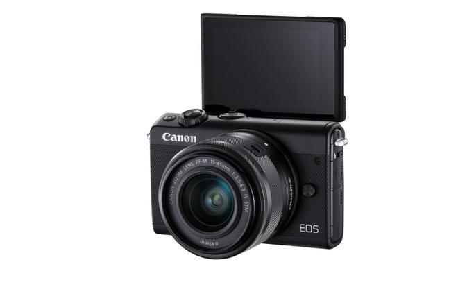 Canon EOS M100: Cau noi giua smartphone va DSLR hinh anh